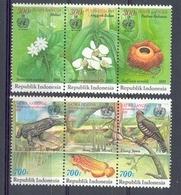 Mgm1541 FLORA FAUNA VOGEL VISSEN REPTIEL BLOEMEN FLOWERS REPTILE FISH BIRDS VARANUS INDONESIA 1993 PF/MNH - Reptielen & Amfibieën