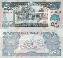 Somaliland 2011 - 500 Shillings - Pick 6 UNC - Somalia
