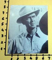 JAMES STEWART CINEADESIVO STICKER VINTAGE NEW ORIGINAL - Cinema Advertisement