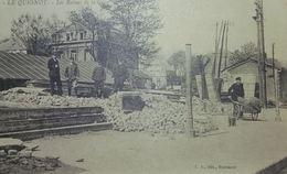 Le Quesnoy Les Ruines De La Gare - Le Quesnoy