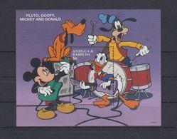 MWD-DSN008 MINT PF/MNH ¤ KOMPL. SET / BLOCK OR SHEET ¤ THE WORLD OF WALT DISNEY -- FRIENDS OF WALT DISNEY - Disney