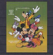MWD-DSN009 MINT PF/MNH ¤ KOMPL. SET / BLOCK OR SHEET ¤ THE WORLD OF WALT DISNEY -- FRIENDS OF WALT DISNEY - Disney