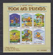 MWD-DSN011 MINT PF/MNH ¤ KOMPL. SET / BLOCK OR SHEET ¤ THE WORLD OF WALT DISNEY -- FRIENDS OF WALT DISNEY - Disney