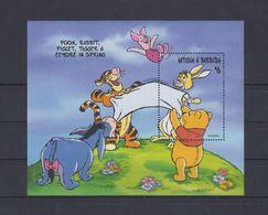 MWD-DSN012 MINT PF/MNH ¤ KOMPL. SET / BLOCK OR SHEET ¤ THE WORLD OF WALT DISNEY -- FRIENDS OF WALT DISNEY - Disney