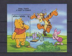 MWD-DSN013 MINT PF/MNH ¤ KOMPL. SET / BLOCK OR SHEET ¤ THE WORLD OF WALT DISNEY -- FRIENDS OF WALT DISNEY - Disney