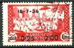 Marruecos Español Nº 161 Usado - Marruecos Español