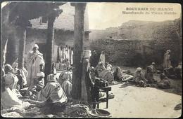 Souvenir De Maroc. Marchands  De Vieux Habits. - Otros