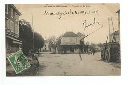 """CPA""""1913"""" BEAUREPAIRE"""" (Quartier De La Gare) - Beaurepaire"""