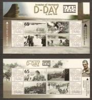 Ghana MNH Limited Edition Set  2 WORLD WAR 2 D-DAY - UTAH BEACH - 2. Weltkrieg