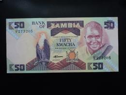 ZAMBIE : 50 KWACHA  ND   P 28a     NEUF * - Zambie