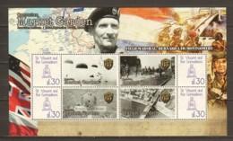 St Vincent Grenadines MNH Limited Edition Sheet 2 WORLD WAR 2 OPERATION MARKET GARDEN - MONTGOMERY - WW2