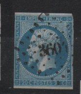 PC  3604  Villefort,  Lozère - Marcofilie (losse Zegels)