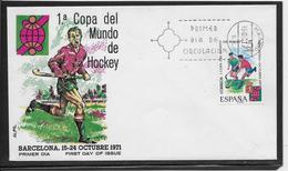 Thème Hockey Sur Gazon  - Jeux Olympiques - Sports - Enveloppe - Rasenhockey