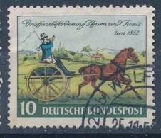 BRD Mi. 160 Gest. 100 Jahre Briefmarken Thurn Und Taxis Postkutsche - Post