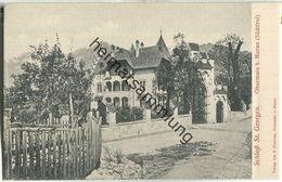 Schloss St. Georgen - Obermais - Verlag F. Pletichs Obermais Ca. 1900 - Merano