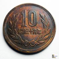Japan - 10 Yen - 1961:Year 36 - Japón