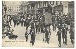 45-ORLEANS-Les Fêtes De Jeanne D'Arc - Les Compagnons... 1908...  Animé - Orleans