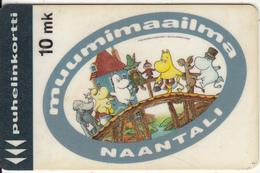 FINLAND - Moomin World, Turun Puhelin Telecard, Tirage 30000, Exp.date 07/94, Used - Finland