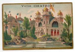Chromo --PARIS  --Victor CHATRIOT (Comestibles )  -- Pavillon De La Bolivie........à Saisir - Altri