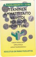 FINLAND - Technical Skill, Turun Puhelin  Telecard, CN : 0000, Tirage 3000, Exp. Date 12/96, Used - Finland