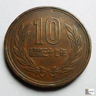 Japan - 10 Yen - 1962:Year 37 - Japón