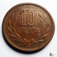 Japan - 10 Yen - 1963:Year 38 - Japón