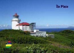 Mauritius Ile Plate Lighthouse New Postcard Maurice - Vuurtorens