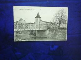 1913 AUCH  PONT ET EGLISE SAINT PIERRE  ETAT BON - Auch