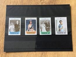 Antigua & Barbuda 1988 Ruby Wedding SG/NO 1149/52 MNH Stamps - Antigua And Barbuda (1981-...)