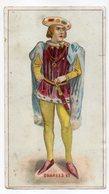 Chromo -LE CROTOY  --Chicorée D Voelcker-Coumes Bayon-- Charles VII ......à Saisir - Other