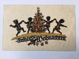 AK   SILHOUETTE   CHRISTMAS - Scherenschnitt - Silhouette
