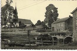 OUR (Paliseul) - 3175. Eglise, Vieux Pont Et Maison - Circulé 1956 - Edit. Arduenna - Paliseul