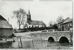 OUR (Paliseul) - Eglise Pont Et Maisons Des 2 Côtés - Circulé  - Edit. Smetz / Auberge Restaurant Le Clair Val - Paliseul