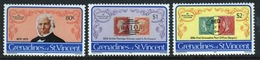St.Vincent & Grenadines 1979 Set Of Stamps Commemorating Death Centenary Of Rowland Hill. - St.Vincent & Grenadines