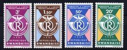 Serie Nº 37/40 Rwanda - Rwanda
