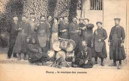 78-ROSNY- LA MUSIQUE DES ZOUAVES - Rosny Sur Seine