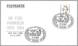 Dr. CARL HAEBERLIN. Wyk Auf Fohr 1997 - Medicina