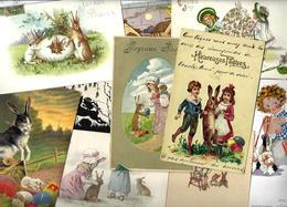 Lot 1796 De 10 CPA Lapins Bunny Dont Position Humaine Fantaisies Déstockage Pour Revendeurs Ou Collectionneurs - 5 - 99 Cartoline