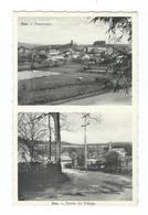 OUR (Paliseul) - Double Vues Sur Panorama Et Entrée Village - Pas Circulé - A. Smetz Pour Arnould Marie - Paliseul