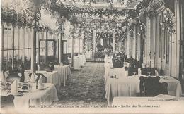 CPA 291 -- NICE Palais De La Jetée- La Véranda - Salle De Restaurant - Monuments