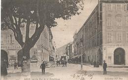 CPA 290 -- NICE  La Rue De La République - Monuments