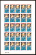 1743 Wallis Et FutunaN° 108 Shepard / Freedom 7 Espace (space) Non Dentelé (imperforate) ** MNH Feuilles (sheets) - Imperforates, Proofs & Errors
