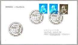 Matasellos XLI Exposicion Filatelica GRACIA. Barcelona 1990 - 1931-Hoy: 2ª República - ... Juan Carlos I