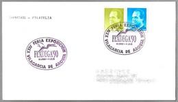 Matasellos XXIV FERIA EXPOSICION - FEXDEGA'90 . Vilagarcia De Arousa, Galicia, 1990 - 1931-Hoy: 2ª República - ... Juan Carlos I