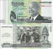 Cambodia 2013 - 2000 Riels - Pick 64 UNC - Cambodia