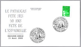 FIESTA DE LAS ALPARGATAS - FETE DE L'ESPADRILLE. Mauleon-Soule 2000 - Textiles