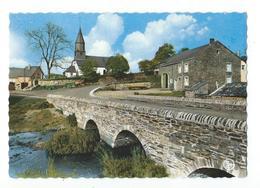 OUR (Paliseul) - Eglise Eglise, Pont, Maisons - Couleur  - Circulé 1971 - Nels / Anc. Ets Ern. Thill - Paliseul