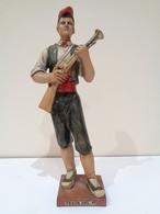 Escultura Tradicional Del Trabucaire. Festa Del Pi De Centelles, Vic (Catalunya). - Sculptures