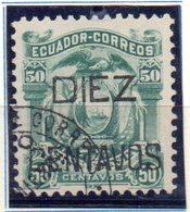 Sello Nº 14 Ecuador - Ecuador