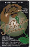 FINLAND - Rentun Ruusu, Turun Puhelin Telecard, Tirage 20000, Exp.date 12/96, Used - Finland